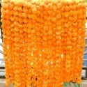 Colorful Artificial Marigold Flower Garland