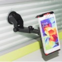 ROQ Long Neck Big Clamp One Touch Car Mobile Holder