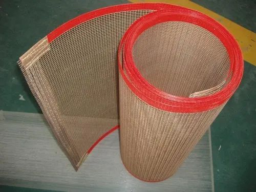 Brown PTFE Coated Fiber Glass Open Mesh Belt, Thickness: Upto 0.95 mm, Rs  800 /square meter | ID: 7783676330