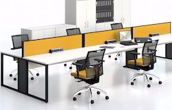Aluminum It Office Look Desking Workstation, For Corporate Office, Seating Capacity: 60kg