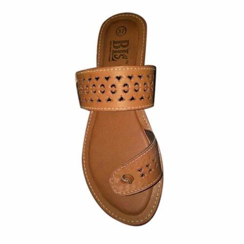 Ladies Simple Flat Sandal at Rs 120  pair