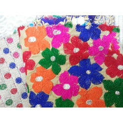 Viscose Flower Fabric