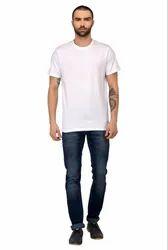 White Plain Boys Cotton T Shirt
