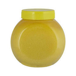 Transparent Plain Ghee Plastic Container, Capacity: 2 Kg