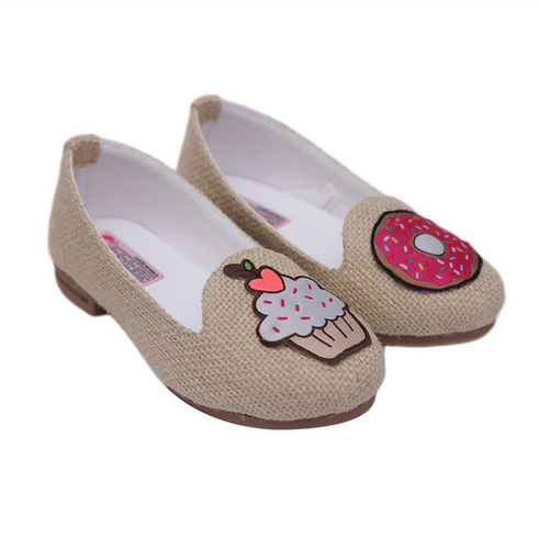 fe409250343028 Loafers - Stylish Loafers For Girls With Rose Applique Ecommerce Shop /  Online Business from Mumbai