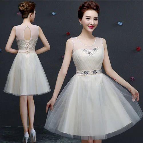 84ee49fcf4f Net Western Wear Girls Party Wear Dresses