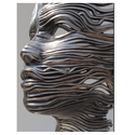 Stainless Steel Ribbon Sculptures