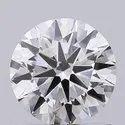 1.05ct Lab Grown Diamond CVD H VS2 Round Brilliant Cut IGI Certified Stone