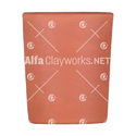Clay Cup ( Cylindrical Shaped )