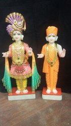 God Swaminarayan Marble Statue