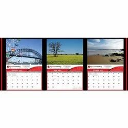 Contrast And Bright Advertising Calendars