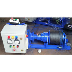 Electric Winch - 5 Ton Winch Machine Manufacturer from Mumbai