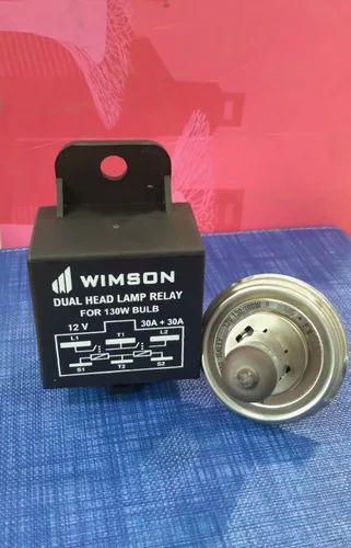 60 A Dual Headlamp Relay For 130 W Bulb  12 V  Rs 75