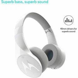 Motorola Pulse Escape White Headset
