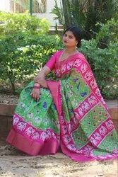 Designer Pochampally Silk Saree
