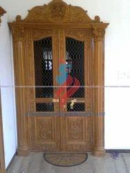 Designed Home Door