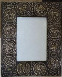 Zodiac Design Photo Frame