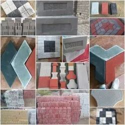 Cement Paver Block, Thickness: 40mm 60mm 80mm 100mm