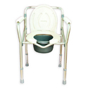 Pedder Johnson Aluminum Folding Commode