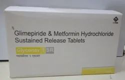 1000mg Glimepride and Metformin Hydrochloride Sustainded Release Tablets