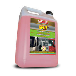 Split-Wax shampoo