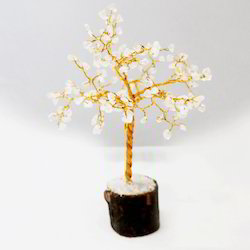 White Color Sone Decorative Ethnic Tree
