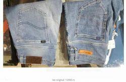 Denim Stretch Straight Leg Jeans