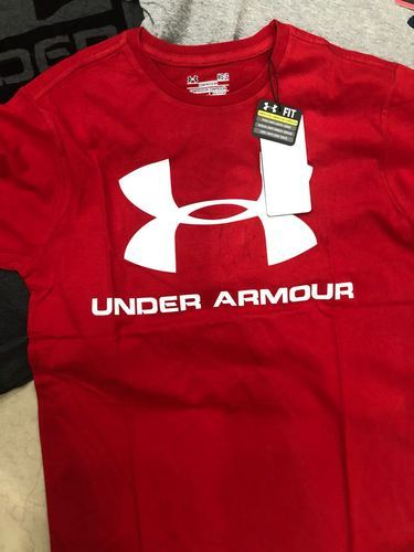 Under Armour Men Round Neck Printed T Shirt Rs 250 Piece Abiraami Apparels Id 19885615797