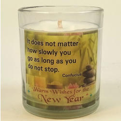Motivational Quotes Candles