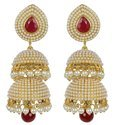 Gold Yellow Jhumki