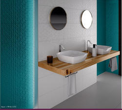 Kajaria Multicolored 10x15 Luster Wall Tiles, Size (In cm): 25x37.5