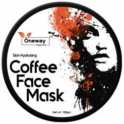 Oneway Happiness Coffee Face Pack Pack, Packaging Size: 100 G