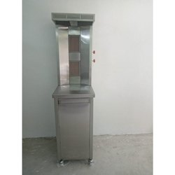 Shawarma Machine Double Burner Gas Type Full SS