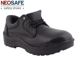 Buffalo Leather Industrial Safety Shoe