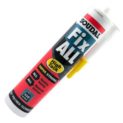 Soudal Fix All White High Tack Sealant Glue
