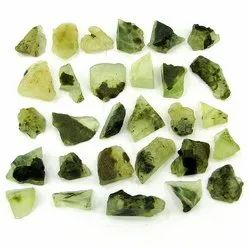 Prehnite Stone Rough Gemstone