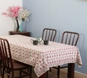 Table Cover Hand Block Printed Cotton Tablecloths