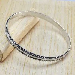 925 Sterling Silver Jewelry Plain Silver Bangles
