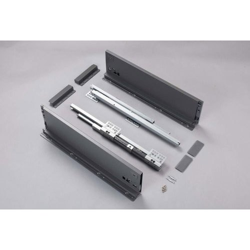 Metallic Grey Steel Tandem Channel Set