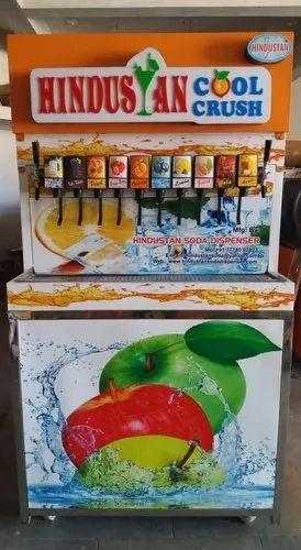 Soda Machine - 6 Flavor Soda Machine Manufacturer from Gondal