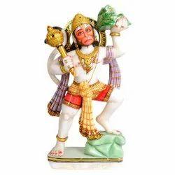 Marble Hanuman Idol Statue