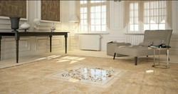 Italian Marble Flooring Work