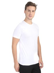Plain White Round Neck T Shirts