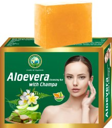 Aloevera with Champa Cleansing Bar