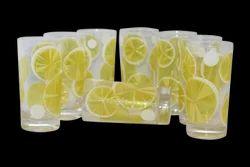 Lemon Glass Set
