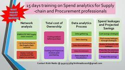 Spend Analytics Training For Supply Chain Professionals