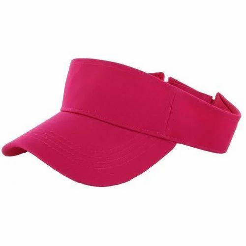 Red Tennis Visor Caps 6d11fb714b0