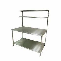 Stainless Steel Silver Ss Display Racks