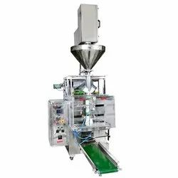 Auger Filler Fully Pneumatic Pouch Packing Machine Collar Type for Powder