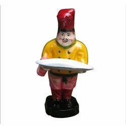 Chef Fiber Statue